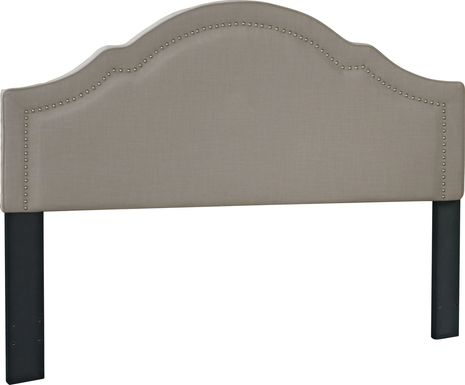 Seldalia Gray King Upholstered Headboard