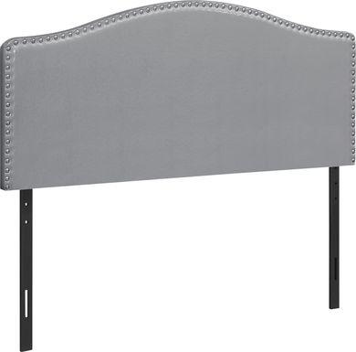 Selover Gray Queen Headboard