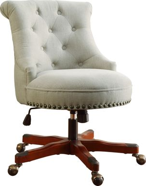 Selvarosa Natural Desk Chair
