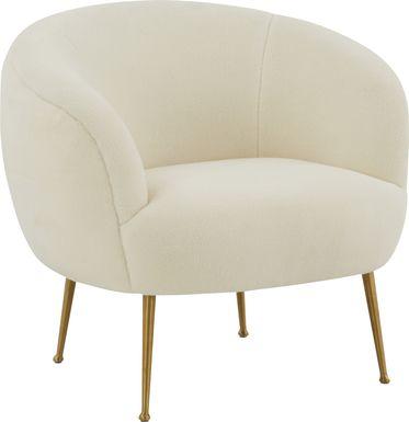 Selwinlane Cream Accent Chair