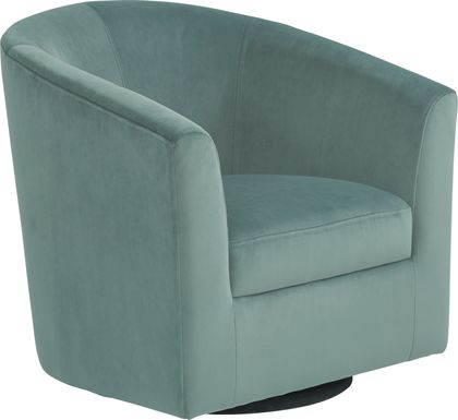 Sentosa Seafoam Accent Swivel Chair