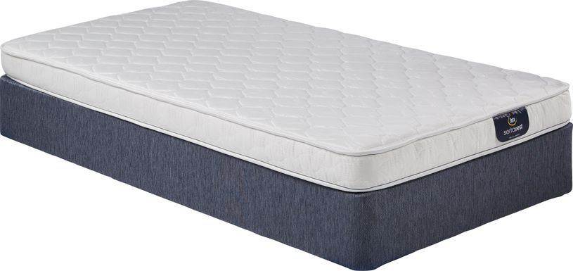 Serta Davenburry Low Profile Twin Mattress Set