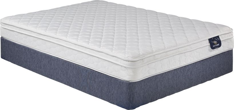 Serta Elmont Low Profile Full Mattress Set