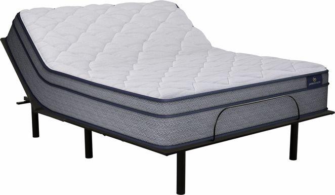 Serta Perfect Sleeper Camden Lake Queen Mattress with RTG Sleep 2000 Adjustable Base