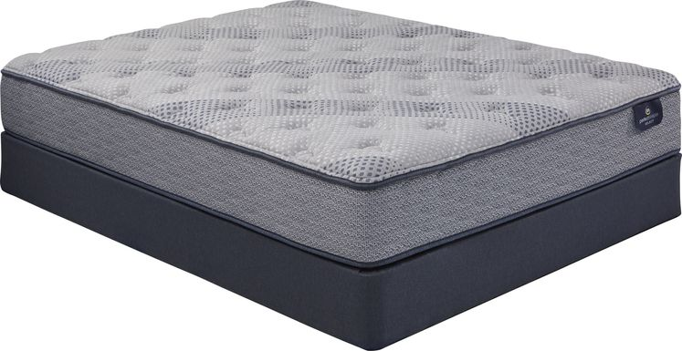 Serta Perfect Sleeper Hazelcrest Low Profile Queen Mattress Set