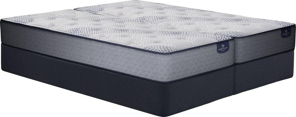 Serta Perfect Sleeper Hazelcrest Low Profile Split King Mattress Set