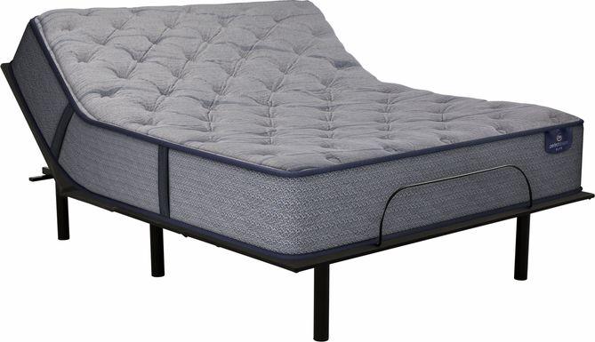 Serta Perfect Sleeper Lynwood Heights King Mattress with RTG Sleep 2000 Adjustable Base