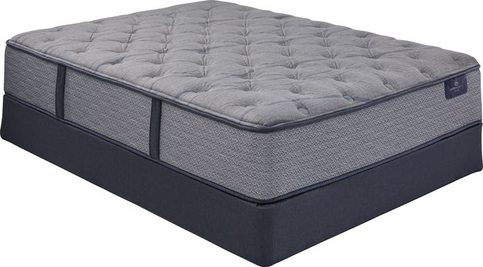 Serta Perfect Sleeper Lynwood Heights Low Profile Queen Mattress Set