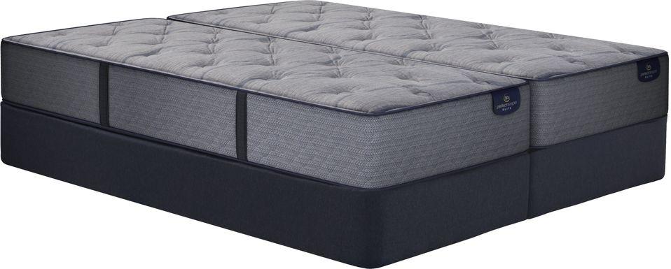 Serta Perfect Sleeper Lynwood Heights Low Profile Split King Mattress Set
