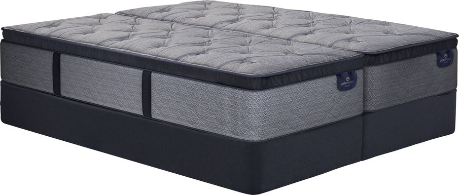 Serta Perfect Sleeper Vernon Hills Low Profile Split King Mattress Set