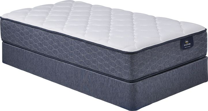 Serta Sheridan Low Profile Twin Mattress Set