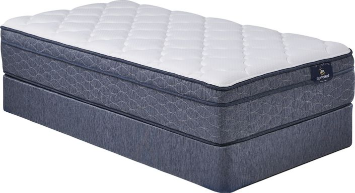 Serta Witmere Low Profile Twin Mattress Set