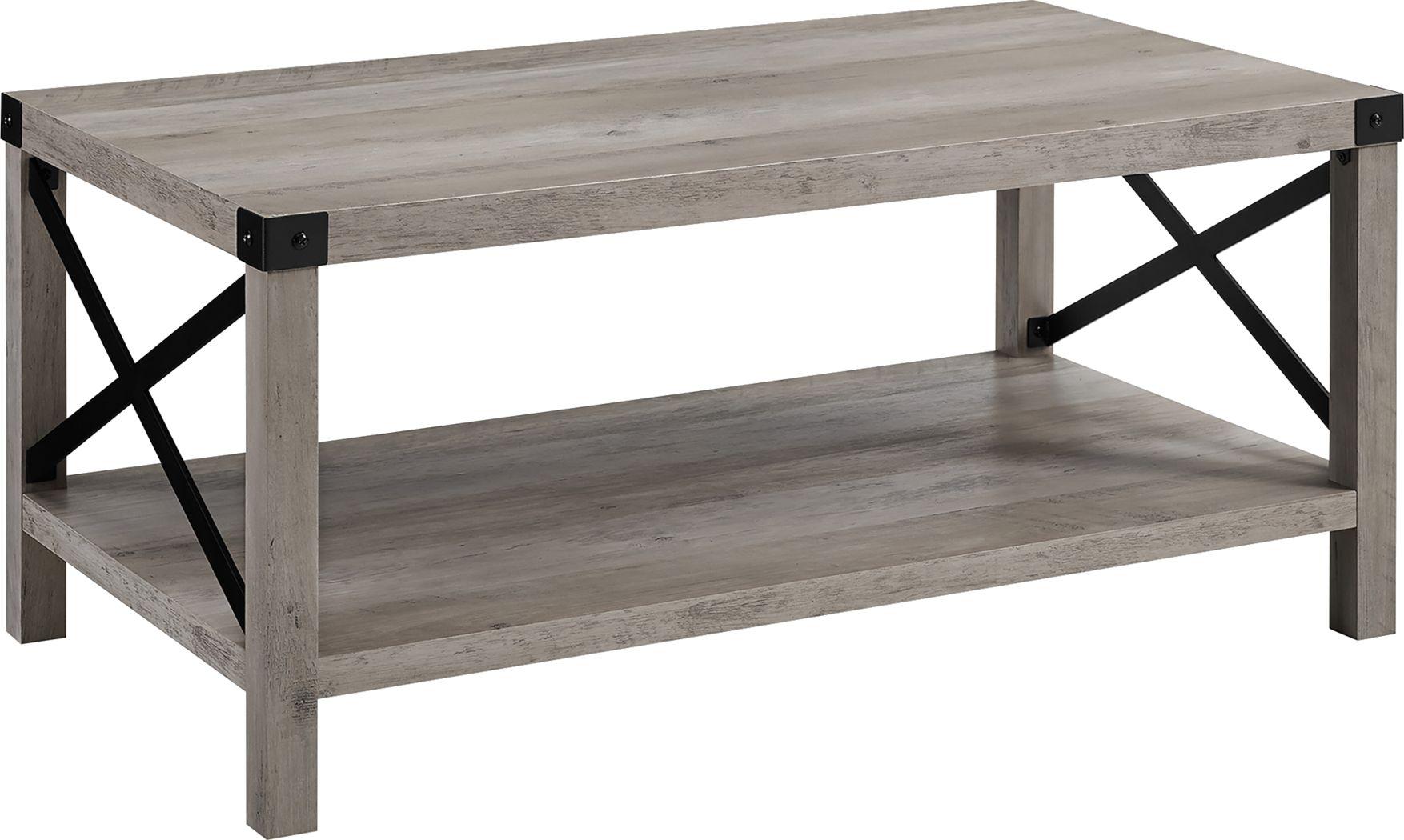 Shamblin Gray Cocktail Table