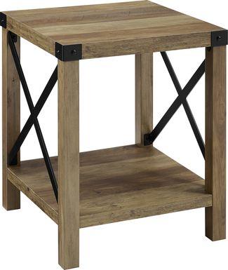 Shamblin Oak End Table