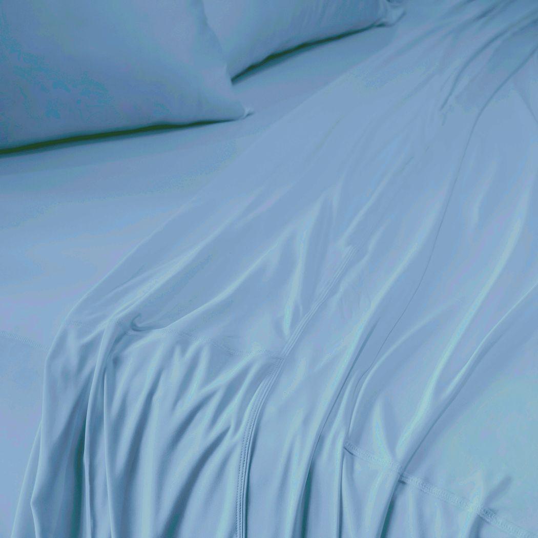 SHEEX Recovers Gen 2 Blue 4 Pc Full Bed Sheet Set