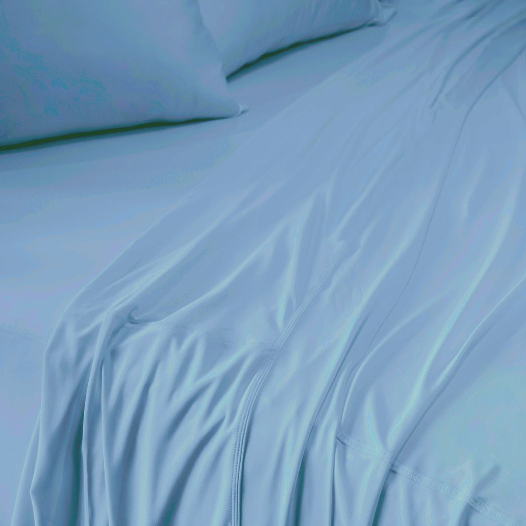 SHEEX Recovers Gen 2 Blue 5 Pc Split King Bed Sheet Set