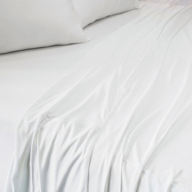 SHEEX Recovers Gen 2 White 4 Pc Full Bed Sheet Set