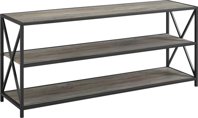 Shelly's Crossing Gray 60 in. Console