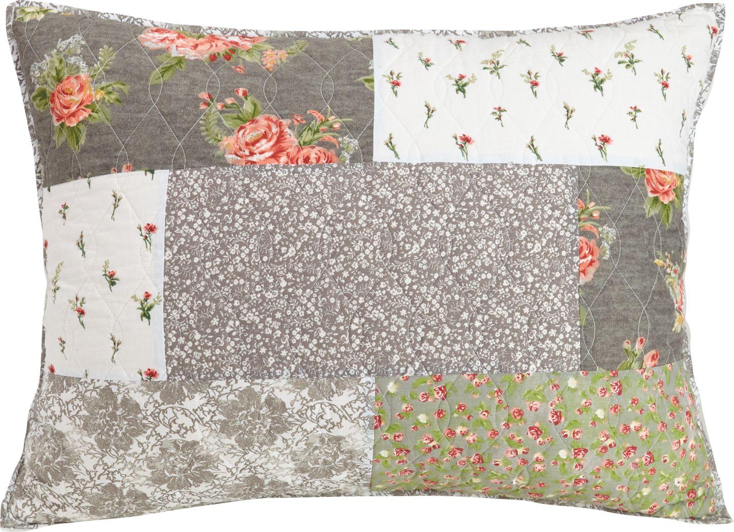 Sheraline Gray Decorative Pillow