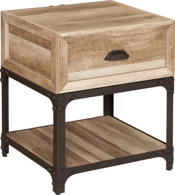 Shiaway Brown End Table