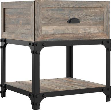 Shiaway Oak End Table
