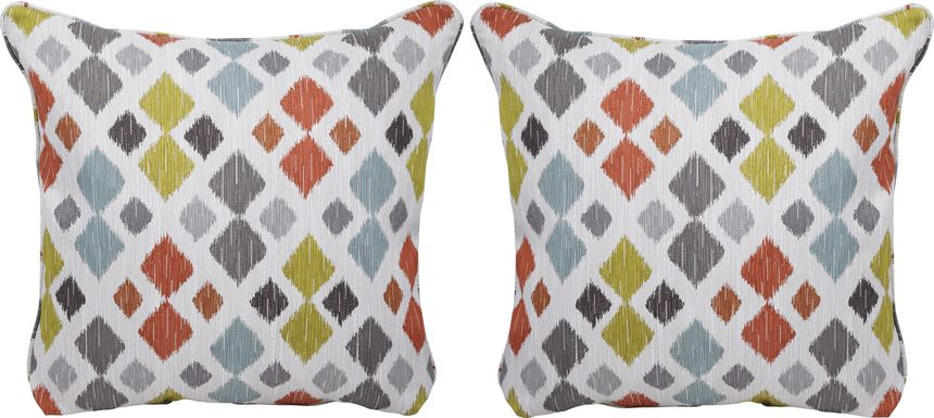 Shibui Tangerine Accent Pillows (Set of 2)