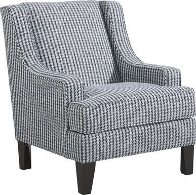 Shiloh Trail Indigo Accent Chair