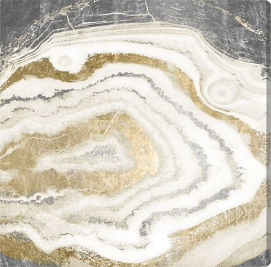 Shimmery Layers Gold Artwork