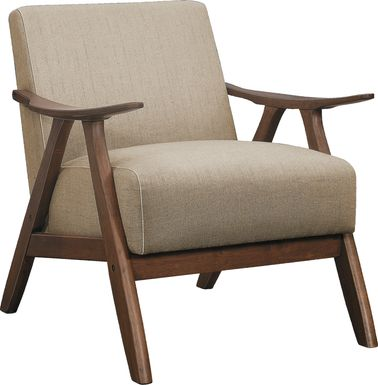 Shinano Brown Accent Chair