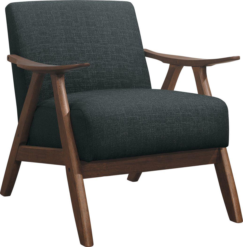 Shinano Dark Gray Accent Chair