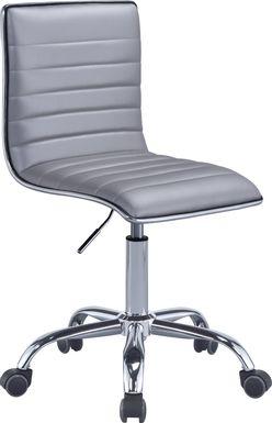 Shiran Silver Office Chair