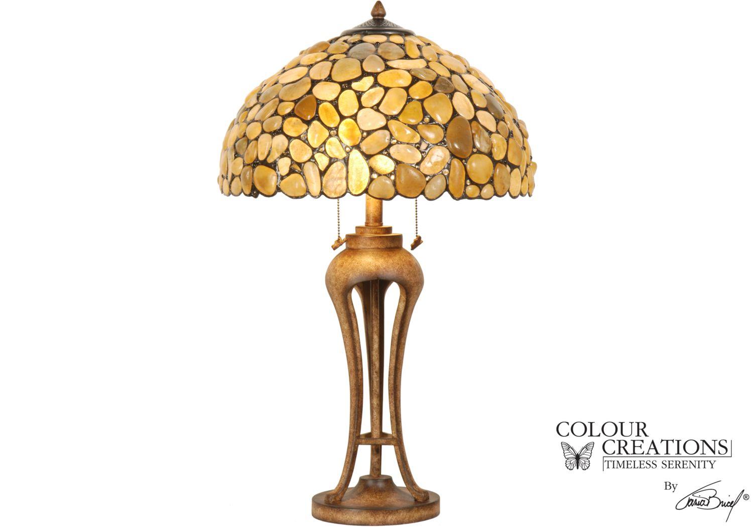 Shoreline Tiffany Style Lamp