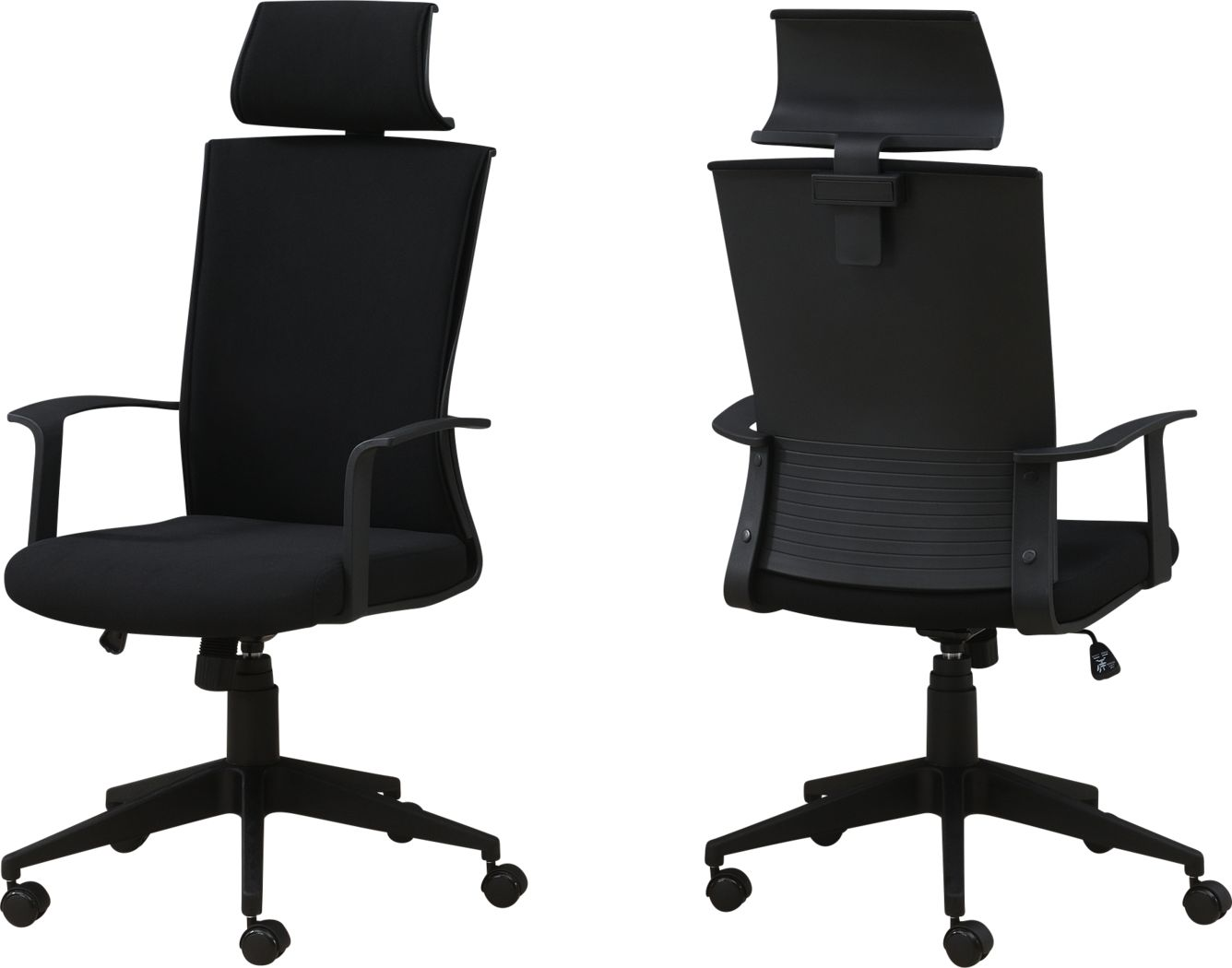 Shurburne Black Office Chair