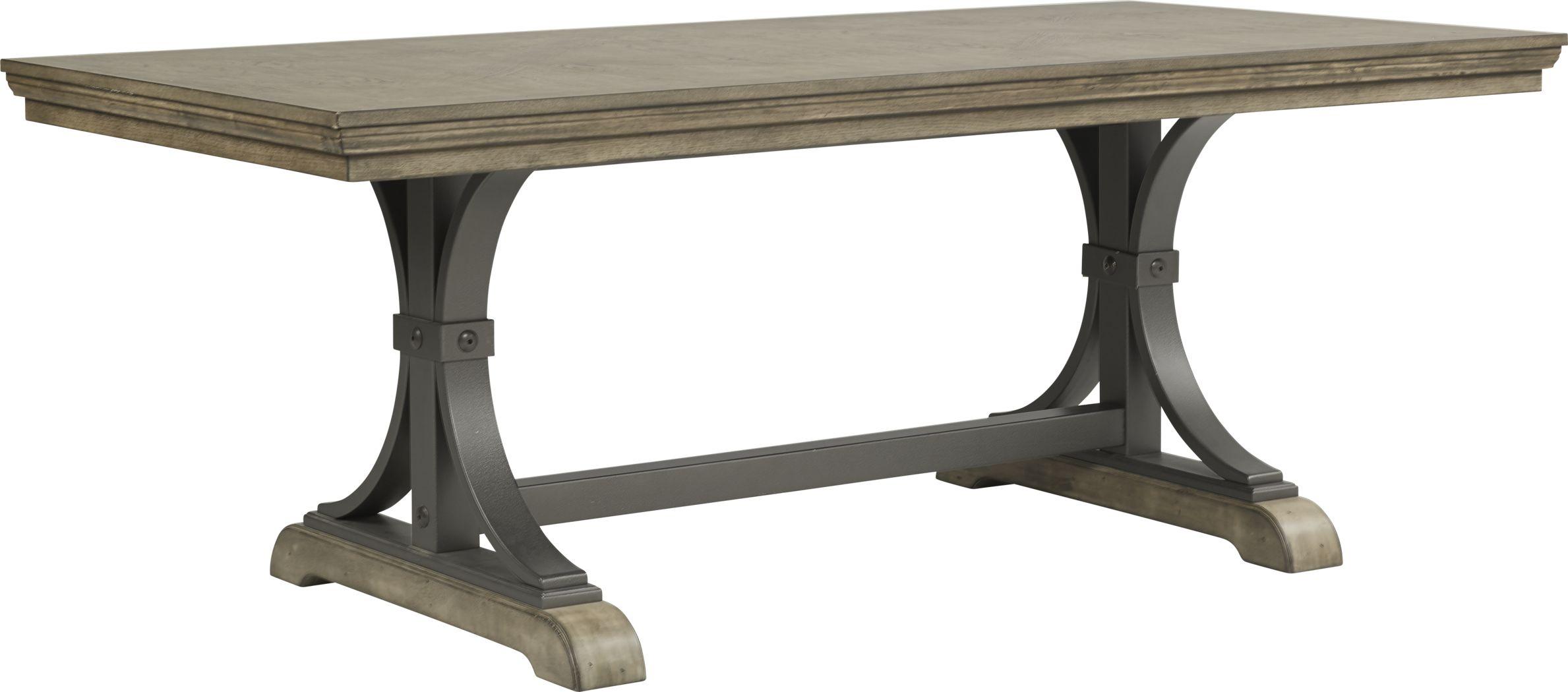Sierra Vista Driftwood Rectangle Dining Table