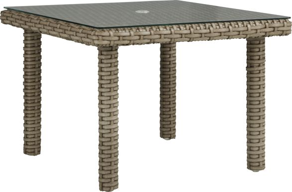 Siesta Key Driftwood 42 in. Square Outdoor Dining Table