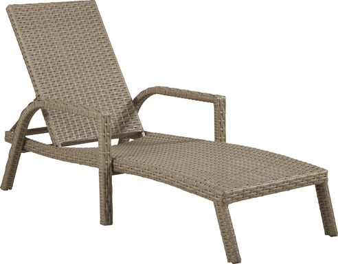 Siesta Key Driftwood Outdoor Pool Chaise