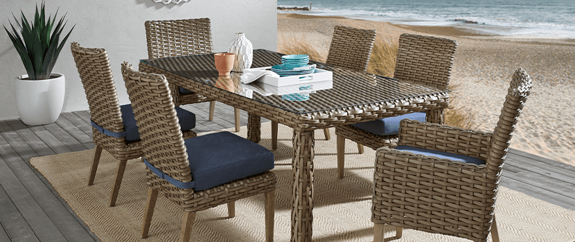 Outdoor Collections : Siesta Key - Dining banner section