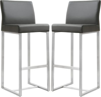 Silas Gray Barstools (Set of 2)