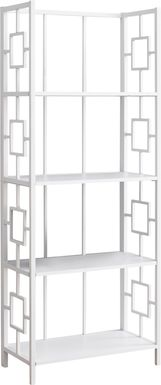 Silkriver White Bookcase