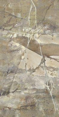 Silver Scene 7' Long Canvas Artwork