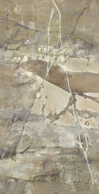 Silver Scene 7' Long Canvas Artwork