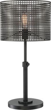 Silverberry Black Lamp
