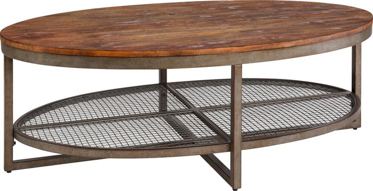 Silvey Brown Cocktail Table