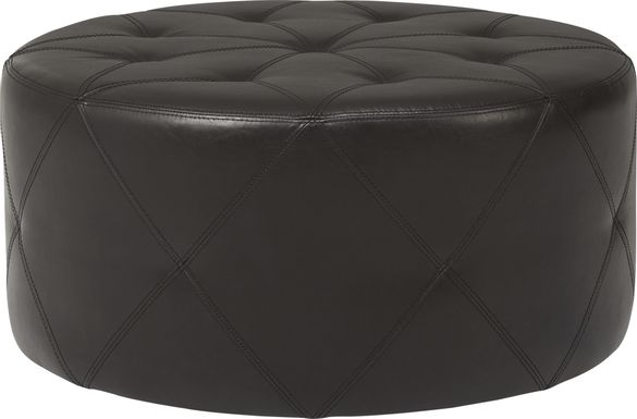 Parmer Brown Cocktail Ottoman