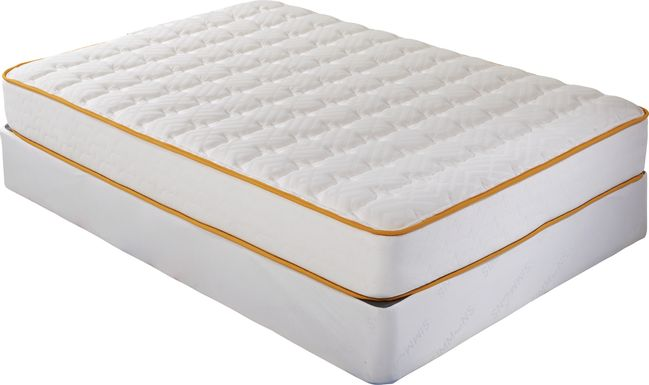 Simmons Comforting DreamZZZ Low Profile Full Mattress Set