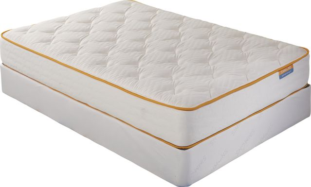 Simmons Delightful DreamZZZ Low Profile Full Mattress Set