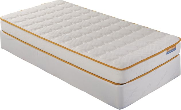 Simmons Little DreamZZZ Low Profile Twin Mattress Set