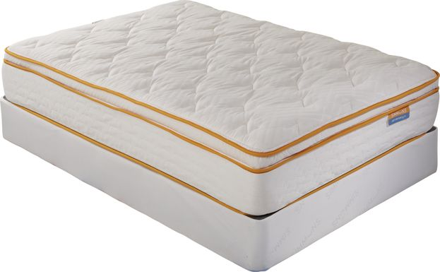 Simmons Relaxing DreamZZZ Low Profile Full Mattress Set