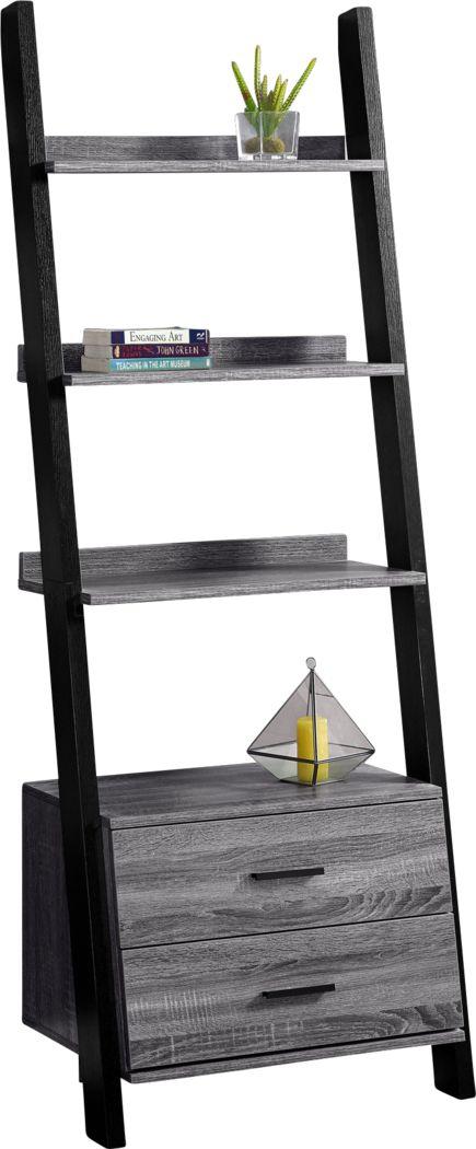 Singleton Gray Bookcase