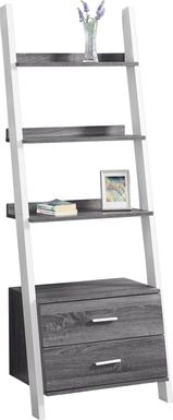 Singleton White Bookcase